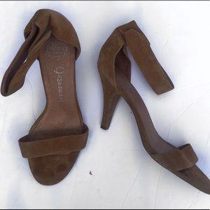 Jeffrey Campbell 12 brown heels